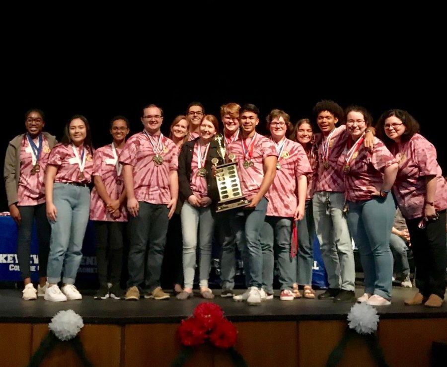 RHS Places First at the Academic Decathlon District Competition